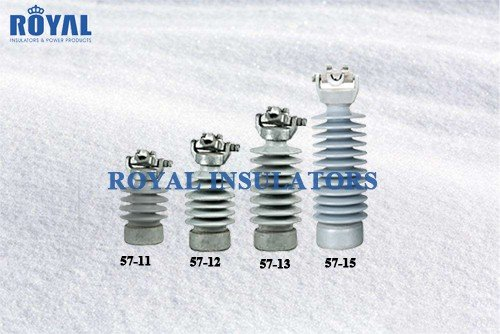 Clamp Top Porcelain line post insulators