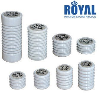 Porcelain bus bar insulators