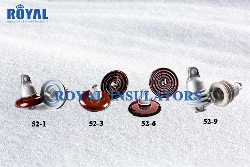 ANSI 52SERIES PORCELAIN DISC suspension INSULATORs