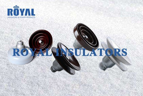 anti-pollution porcelain disc suspension insulators