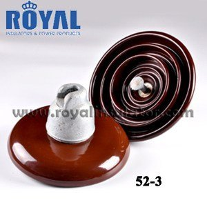 11KV 70KN PORCELAIN DISC INSULATORS 52-3 XP-70