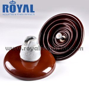 70kN 11kv porcelain disc suspension insulators U70BL