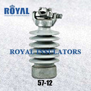Clamp top 25kV porcelain line post insulators 57-12