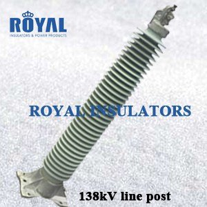 HORIZONTAL MOUNTING 138KV PORCELAIN LINE POST INSULATORS
