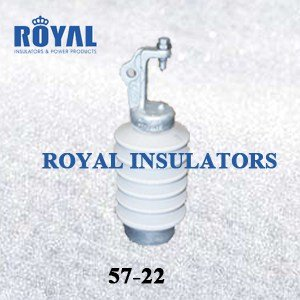 HORIZONTAL MOUNTING 25KV PORCELAIN LINE POST INSULATORS 57-22
