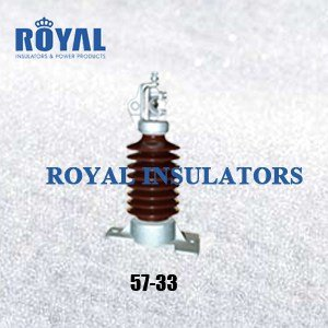 HORIZONTAL MOUNTING 35KV PORCELAIN LINE POST INSULATORS 57-33