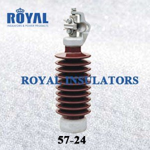 HORIZONTAL MOUNTING 45KV PORCELAIN LINE POST INSULATORS 57-24