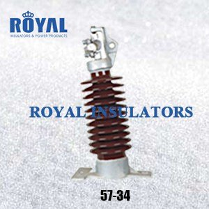 HORIZONTAL MOUNTING 45KV PORCELAIN LINE POST INSULATORS 57-34