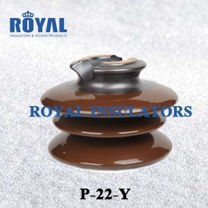 PORCELAIN PIN INSULATORS 22KV BS STANDARD P-22-Y