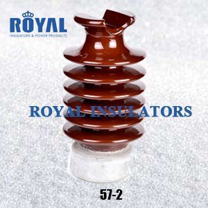 TIE TOP 25KV PORCELAIN LINE POST INSULATORS 57-2